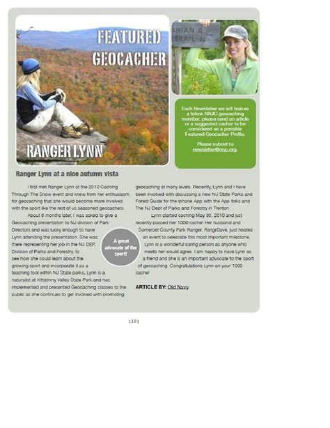 newsletters archived northern  jersey cachers