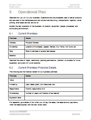 standard operations manual template choice image template design ideas