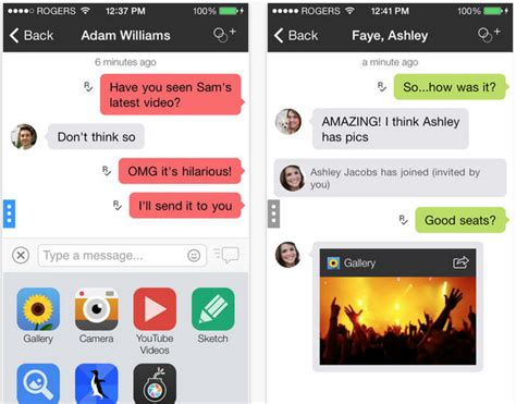 kik messenger 5 5 apk kik messenger app updated for ios 7 with new design stickers and more