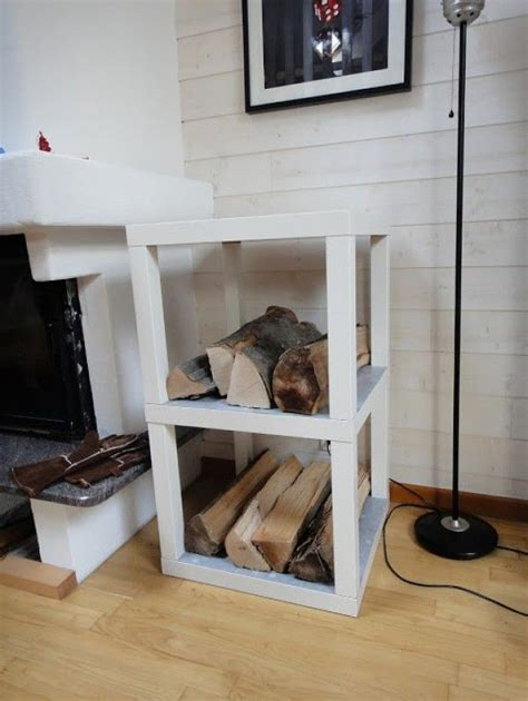 ikea hack shoe shelves made from lack tables redesigned ikea hack diy hack a lack to make a firewood storage