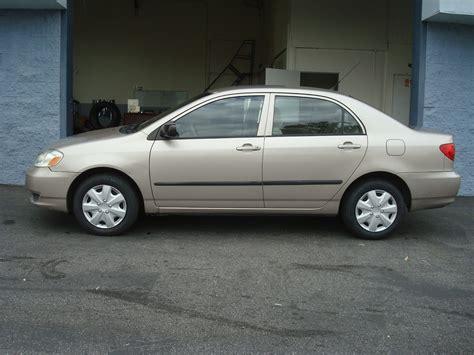 2003 Toyota Corolla Ce T Tak Auto Service 2003 Toyota Corolla Ce Gold