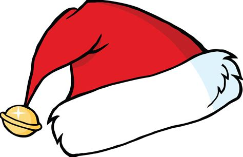 cartoon santa hat cliparts co