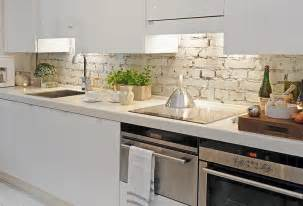 Kitchen With Brick Backsplash 50 Kitchen Backsplash Ideas