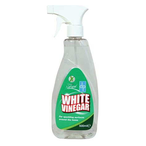 household white vinegar cleaning spray 500ml natural collection select