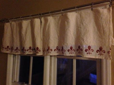 flour sack curtains pin by kay milioni on diy home design ideas pinterest