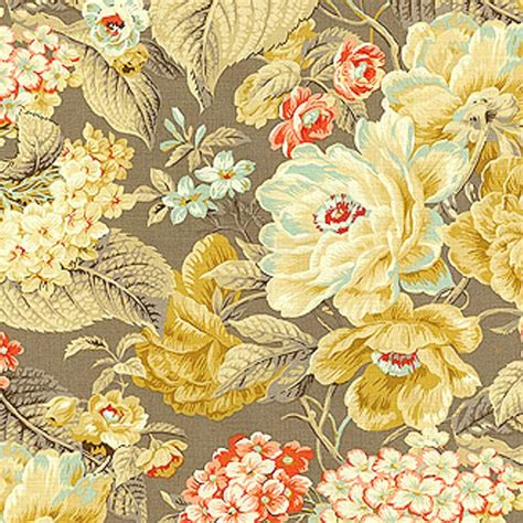 home decor print fabric waverly floral flourish clay jo ann waverly floral flourish clay 677270