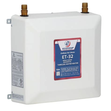 Eccotemp 4.0 GPM Electric Tankless Water Heater ET 32