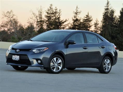 Toyota Corolla User Reviews 2014 Toyota Corolla Le Eco Review And Spin