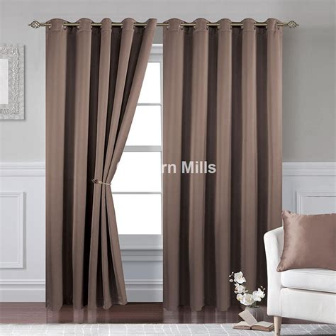 taupe drapes textured satin taupe eyelet curtains chiltern mills