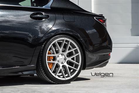 lexus gsf silver lexus gsf velgen wheels vmb7 matte silver 20x9