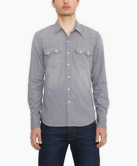 Original Levis Sawtooth Western Shirt Kemeja Black levi s sawtooth western shirt where to buy how to wear