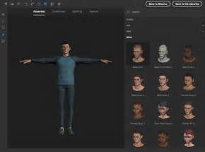 Create 3d Photos Create 3d Models Characters Download Adobe Fuse Cc Beta