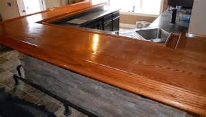 Oak Bar Tops by Bar Top By Wrench Lumberjocks Woodworking Community