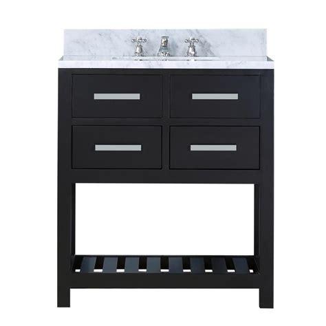 49x22 bathroom vanity top water creation 30 in vanity in espresso with marble vanity top in carrara white madalyn 30e