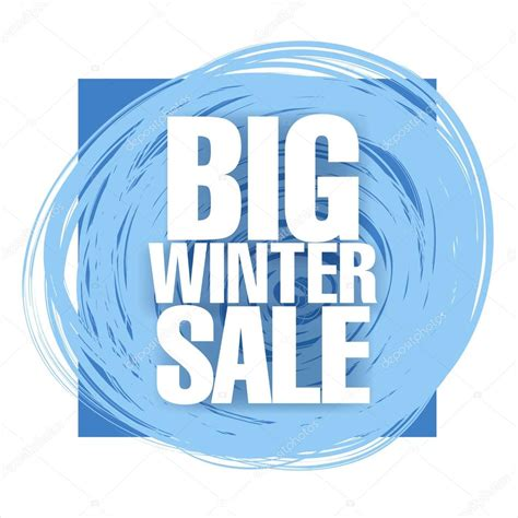 Winter Sale For Just The Two Of Us by Big Winter Sale Banner Stock Vector 169 Igor Vkv 89462924