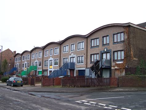 Sheffield To Get New Eco Homes by File New Style Terraced Houses Pye Bank Road Woodside