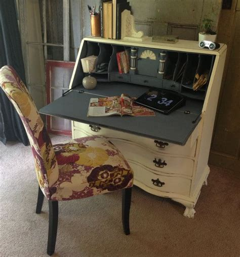 shabby chic secretary desk antique secretary desk shabby chic furniture by