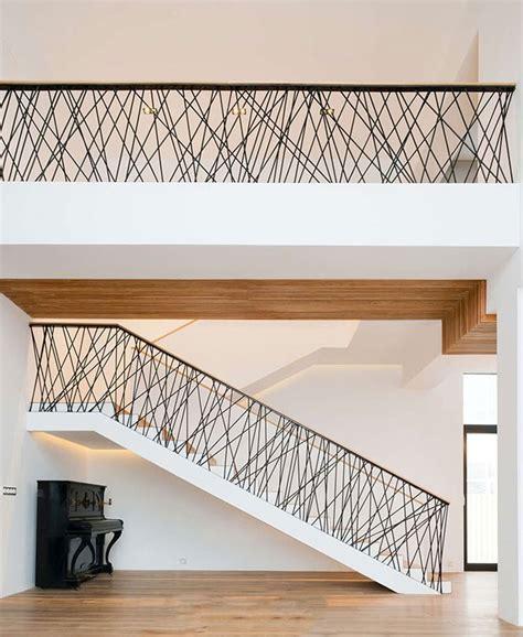corrimano corda corrimano e ringhiere per scale dal design moderno