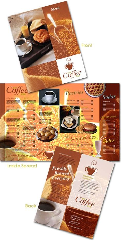 free menu card template indesign 52 best free indesign templates images on free