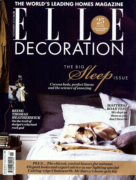 elle decor magazine elle decoration uk magazine vera kyte
