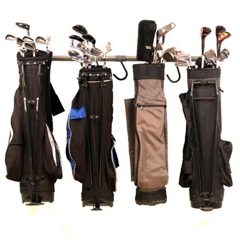 monkey bars golf bag storage rack large at intheholegolf