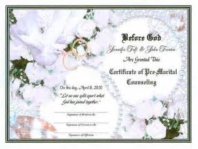 Premarital Counseling Certificate Of Completion Template by Doves Herald Upcoming Nuptials Pre Marital