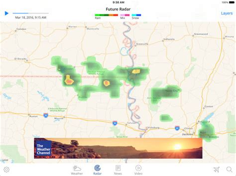 best us weather map the weather channel app for best local forecast