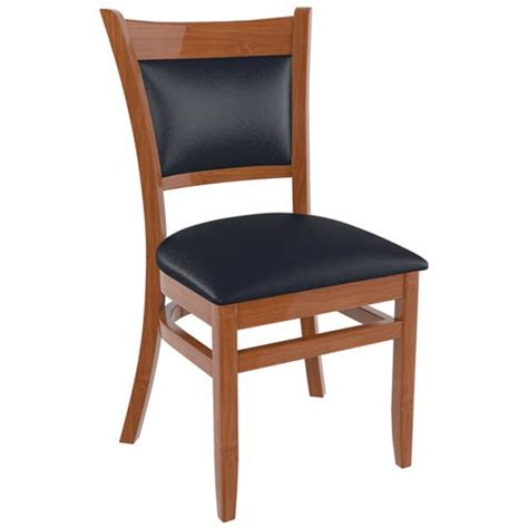 Premium Chairs by Premium Padded Back Wood Chair