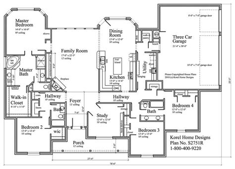 house plans by korel home designs house rooms
