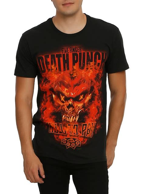 Tshirt Five Finger Punch C3 five finger punch hell to pay t shirt topic