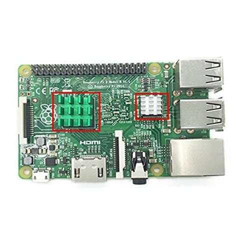 Sale Heatsink Heat Sink Raspberry tytion 3pcs aluminum and copper heat sink heatsink cooling