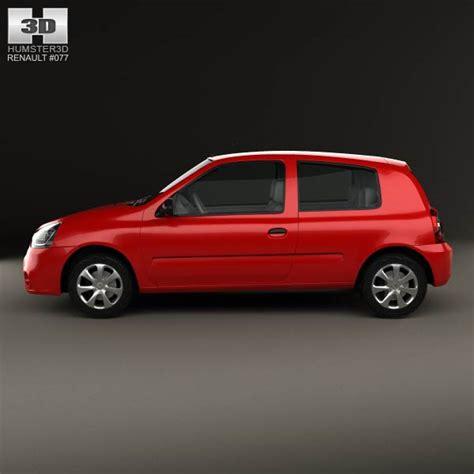renault hatchback models renault clio mercosur 3 door hatchback 2013 3d model
