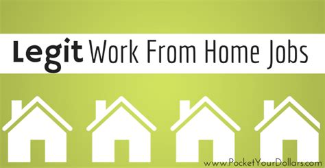 how to get legit work from home