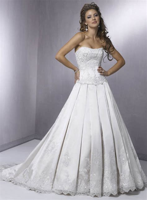 make corset back wedding dresses
