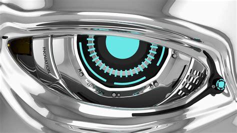 robot eye turbosquid