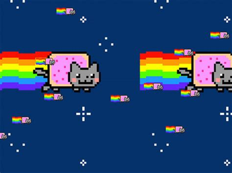 Nyan Cat Meme - nyanomenon 10 tails of an animated rainbow poptart cat