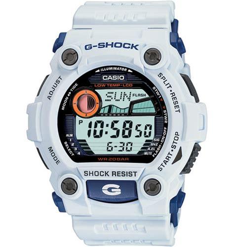 casio s g7900a 7 g shock rescue white digital sport