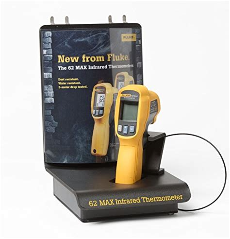 Fluke 62max Infrared Thermometer T1310 3 fluke 62 max ir thermometer non contact 20 to 932 degree f range pressure gauges