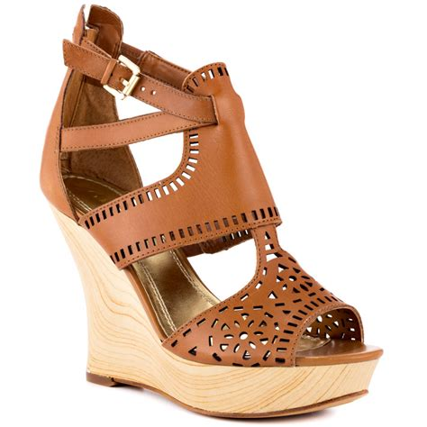 guess shoes guess agenta med brown leather shoes for wacoz