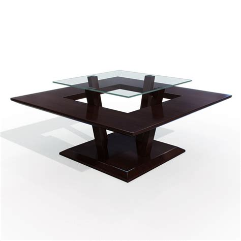 modern center table modern wooden center table coffee table 3d model 3dsmax