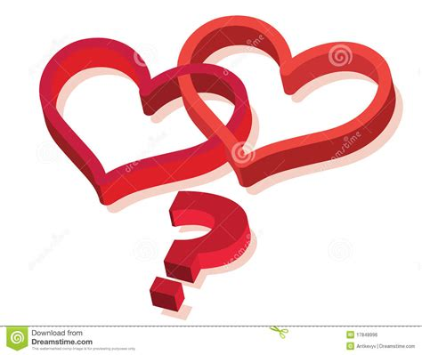 Or Question For Lover Question Royalty Free Stock Image Image 17848996