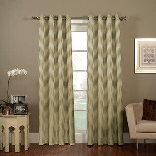 bed bath and beyond grommet curtains chevron ikat grommet window curtain panel contemporary