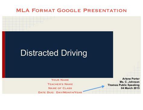 mla format link converter mla presentation with citations