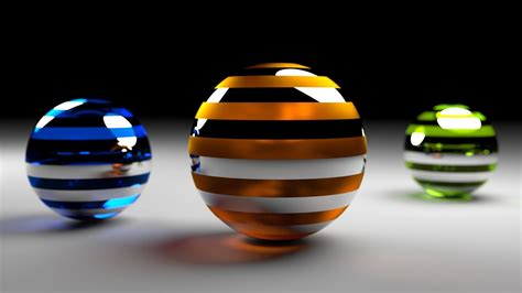 balls rendering surface  creative design hd wallpaper