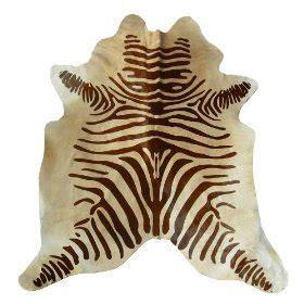 brown and beige zebra rug zebra brown and beige cowhide rug
