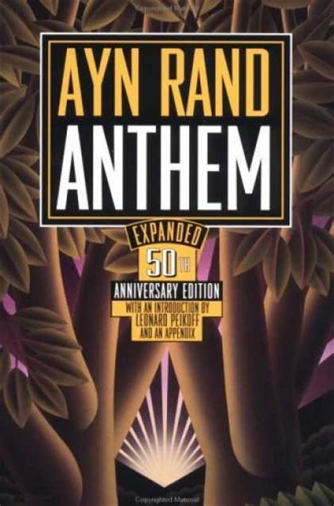 anthem books a constant reader s reads anthem by ayn rand 4 of 5