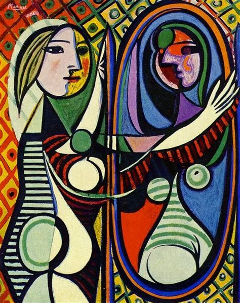My View On Pablo Picasso S Painting Before A Mirror