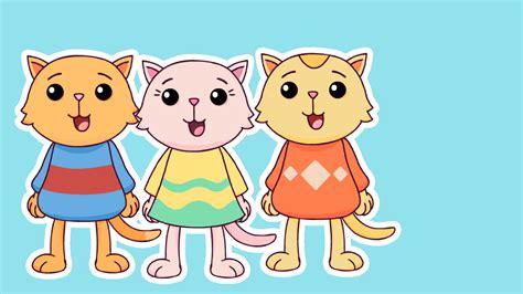 three little kittens nursery rhymes mother goose club