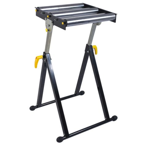 Table Saw Roller Stand by 500mm Foldable Tri Roller Stand And 100 Kgs Capacity