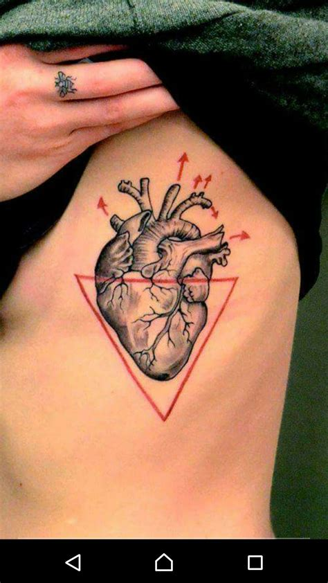 realistic heart tattoos pin by on my style tattoos